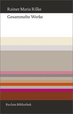 Gesammelte Werke von Martens,  Gunter, Post-Martens,  Annemarie, Rilke,  Rainer Maria