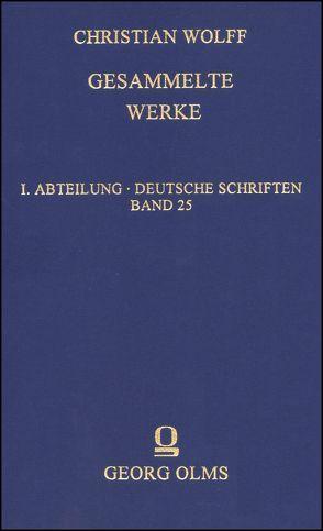Gesammelte Werke von Wolff,  Christian