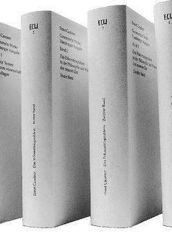 Gesammelte Werke. Hamburger Ausgabe von Cassirer,  Ernst, Recki,  Birgit
