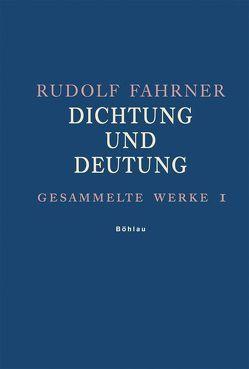 Gesammelte Werke / Gesammelte Werke I von Fahrner,  Rudolf, Pieger,  Bruno
