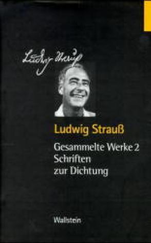 Gesammelte Werke in vier Bänden von Rübner,  Tuvia, Strauss,  Ludwig