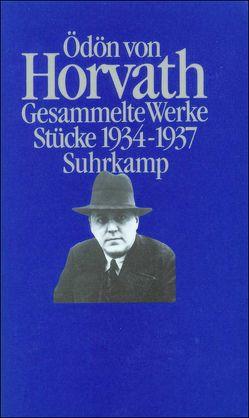 Gesammelte Werke in vier Bänden von Foral-Krischke,  Susanna, Horváth,  Ödön von, Krischke,  Traugott
