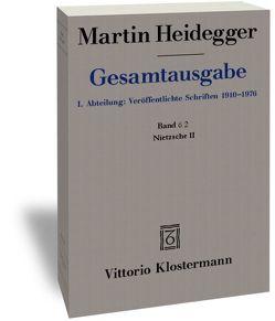 Nietzsche II (1939-1946) von Heidegger,  Martin, Schillbach,  Brigitte