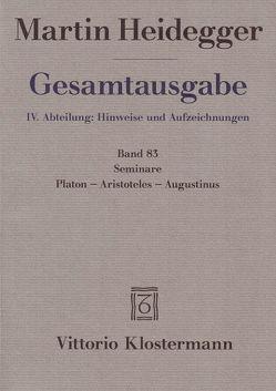 Seminare. Platon – Aristoteles – Augustinus von Heidegger,  Martin, Michalski,  Mark
