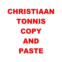 Gesamtausgabe / Copy and Paste von Tonnis,  Christiaan