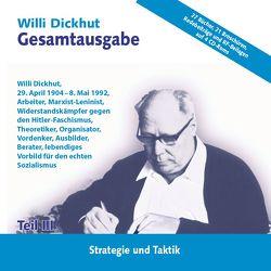 Gesamtausgabe Teil III auf CD-ROM von Dickhut,  Willi