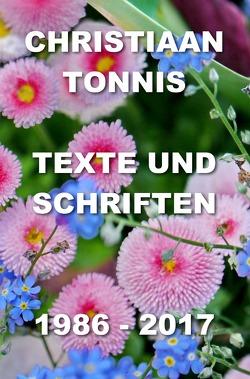 Gesamtausgabe / Texte und Schriften von Tonnis,  Christiaan