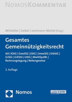 Gesamtes Gemeinnützigkeitsrecht von Geibel,  Stefan J., Jachmann-Michel,  Monika, Winheller,  Stefan