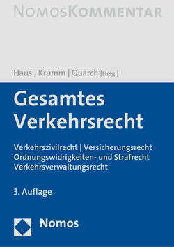 Gesamtes Verkehrsrecht von Haus,  Klaus-Ludwig, Krumm,  Carsten, Quarch,  Matthias