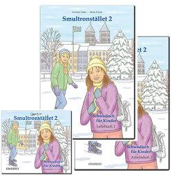 Gesamtpaket Smultronstället 2 – Schwedisch für Kinder – Lehrbuch, Arbeitsheft und CD von Eckert,  Beate, Kühn,  Nicoline