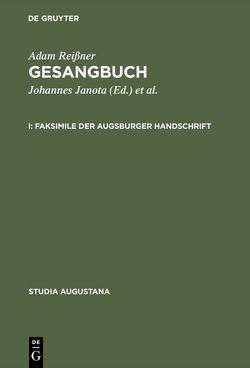 Gesangbuch von Evers,  Ute, Janota,  Johannes, Reißner,  Adam