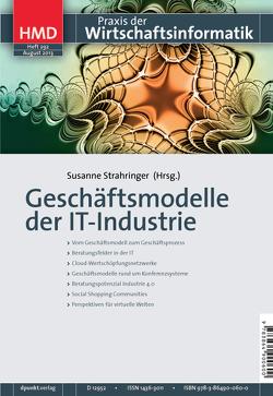 Geschäftsmodelle der IT-Industrie von Strahringer,  Susanne