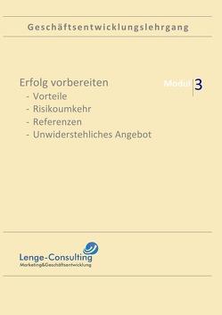 Geschäftsentwicklungslehrgang: Modul 1 Nischenmarketing von Lenge,  Andreas
