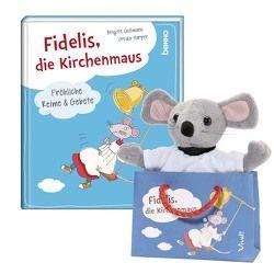 Geschenk-Set »Kirchenmaus Fidelis« von Goßmann,  Brigitte, Harper,  Ursula