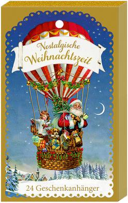 Geschenkanhänger-Blöckchen – Nostalgische Weihnachtszeit von Behr,  Barbara