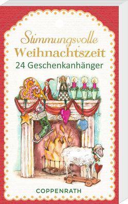 Geschenkanhänger-Blöckchen – Stimmungsvolle Weihnachtszeit von Riese,  Anna