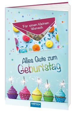 Geschenkbuch Geburtstag, Glückwunschkarte, Geburtstagskarte