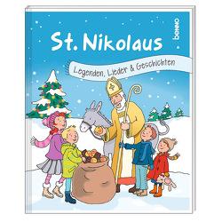 Geschenkheft »St. Nikolaus« von Cratius,  Barbara, Harper,  Ursula, Mondschein,  Helga