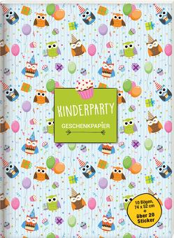 Geschenkpapierbuch. Kinderparty