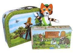 Geschenkset Pettersson und Findus -Spielzeugkoffer/Reisekoffer