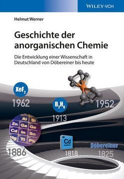 Geschichte der anorganischen Chemie von Werner,  Helmut