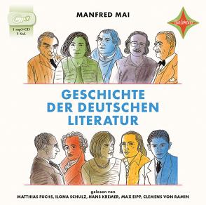 Geschichte der deutschen Literatur von Fuchs,  Matthias, Mai,  Manfred