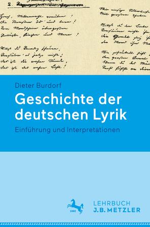 Geschichte der deutschen Lyrik. von Burdorf,  Dieter