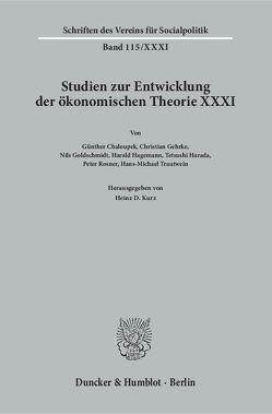 Geschichte der Entwicklungstheorien. von Kurz,  Heinz D.