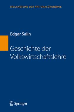Geschichte der Volkswirtschaftslehre von Salin,  Edgar