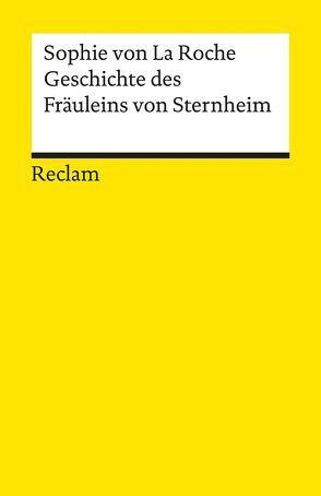 Geschichte des Fräuleins von Sternheim von Becker-Cantarino,  Barbara, La Roche,  Sophie von