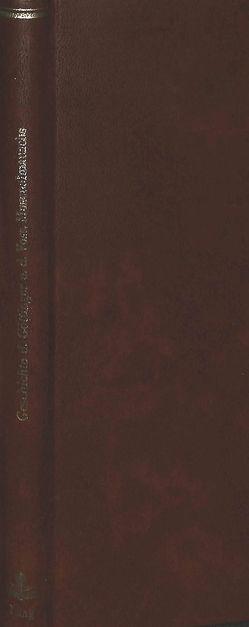 Geschichte des Göttinger und des Vossischen Musenalmanachs von Grantzow,  Hans