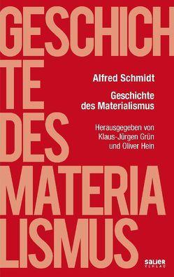 Geschichte des Materialismus von Grün,  Klaus-Jürgen, Hein,  Oliver, Schmidt,  Alfred