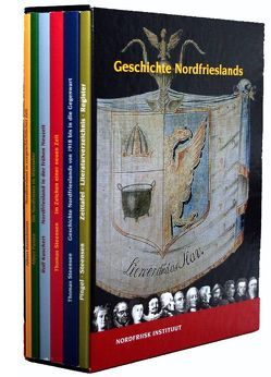 Geschichte Nordfrieslands Band 1-6 im Schuber von Bantelmann,  Albert, Kuschert,  Rolf, Panten,  Albert, Pingel,  Fiete, Steensen,  Thomas