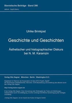 Geschichte und Geschichten von Brinkjost,  Ulrike
