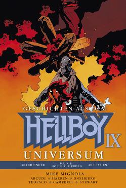 Geschichten aus dem Hellboy Universum 9 von Mignola,  Mike