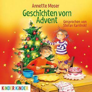 Geschichten vom Advent von Kaminski,  Stefan, Moser,  Annette