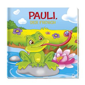 Geschichtenbuch – Pauli, der Frosch