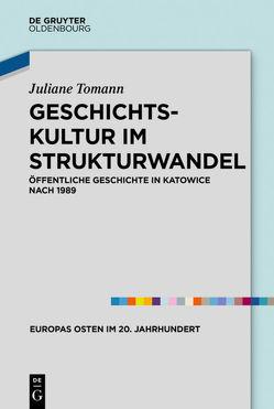 Geschichtskultur im Strukturwandel von Tomann,  Juliane