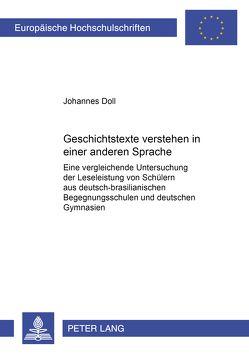 Geschichtstexte verstehen in einer anderen Sprache von Doll,  Johannes