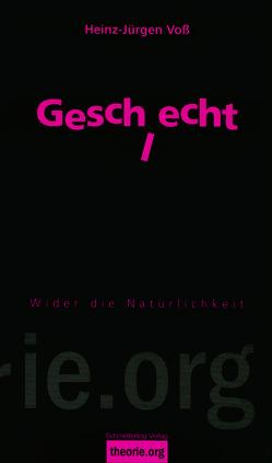 Geschlecht, 4. Auflage von Voß,  Heinz-Jürgen