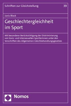 Geschlechtergleichheit im Sport von Block,  Janis