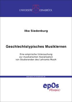 Geschlechtstypisches Musiklernen von Siedenburg,  Ilka