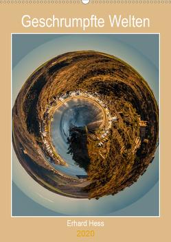 Geschrumpfte Welten (Wandkalender 2020 DIN A2 hoch) von Hess,  Erhard, www.ehess.de