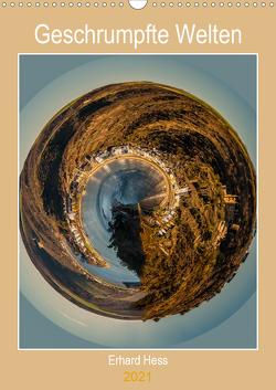 Geschrumpfte Welten (Wandkalender 2021 DIN A3 hoch) von Hess,  Erhard, www.ehess.de