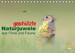 geschützt Naturjuwele aus Flora und Fauna (Tischkalender 2019 DIN A5 quer) von Petzl,  Perdita