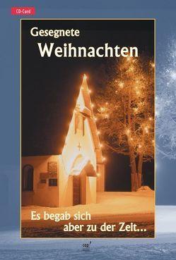Gesegnete Weihnachten (CD-Card) von Börner,  Reinhard