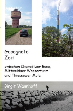 Gesegnete Zeit zwischen Chemnitzer Esse, Mittweidaer Wasserturm und Thiessower Mole von Wannhoff,  Birgit