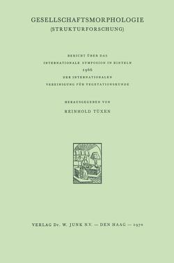 Gesellschaftsmorphologie von Tüxen,  R.