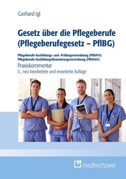 Gesetz über die Pflegeberufe (Pflegeberufegesetz – PflBG) Pflegeberufe-Ausbildungs- und -Prüfungsverordnung (PflAPrV) Pflegeberufe-Ausbildungsfinanzierungsverordnung (PflAFinV) von Gerhard,  Igl