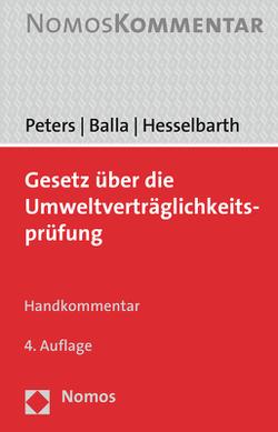 Gesetz über die Umweltverträglichkeitsprüfung von Balla,  Stefan, Hesselbarth,  Thorsten, Peters,  Heinz-Joachim